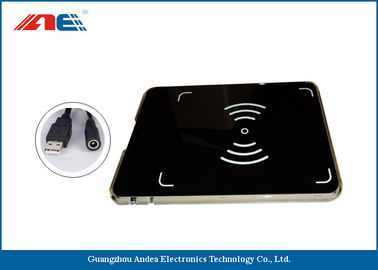 Waterproof RFID USB Reader Writer , HF OEM RFID Reader Integrated With Antenna