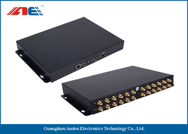 چین 24 Channels Long Distance RFID Reader , Long Range RFID Card Reader Metal Plate Housing کارخانه